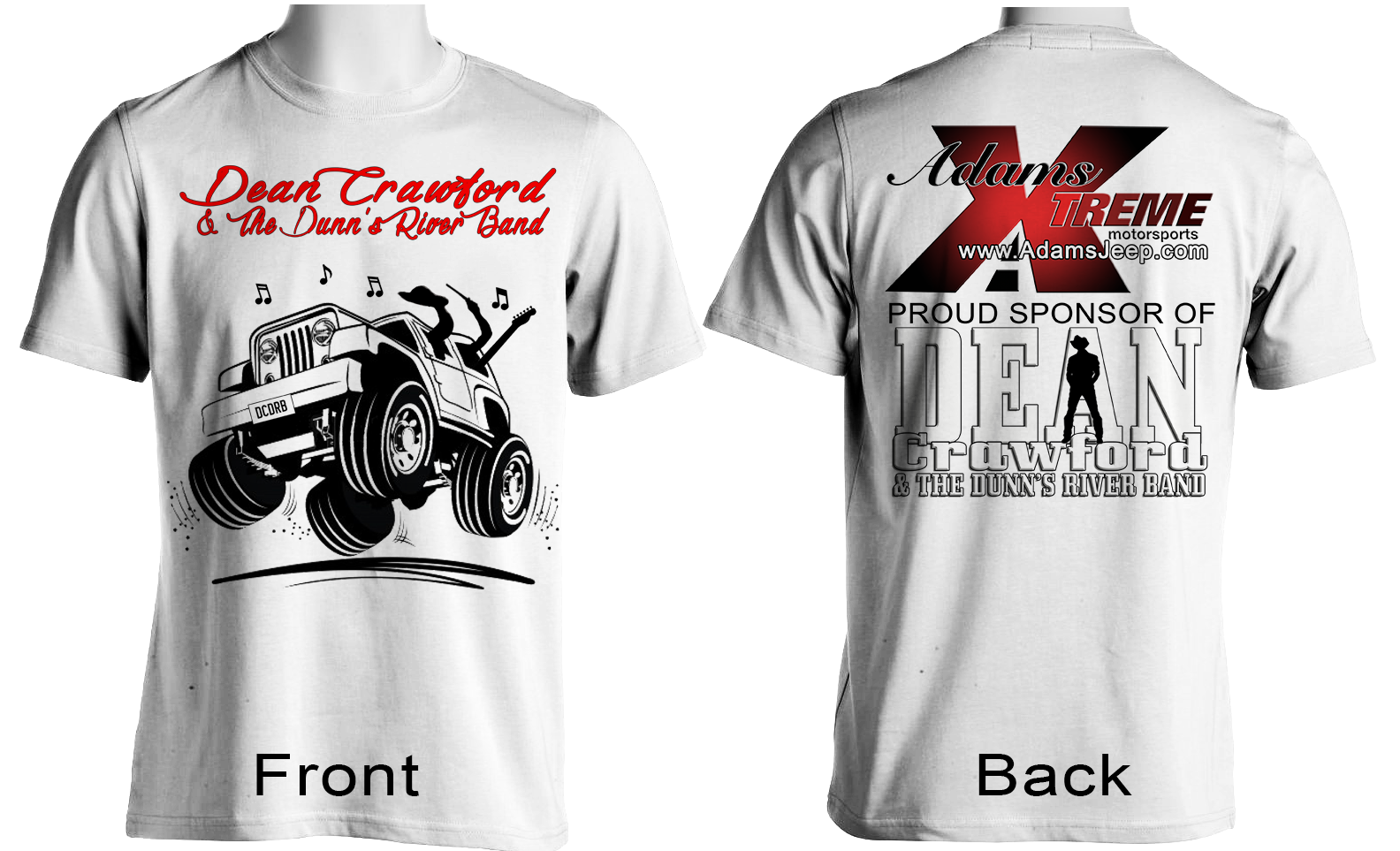 Maryland Promotions And Webdesign TShirt Design - Jeep t shirt design